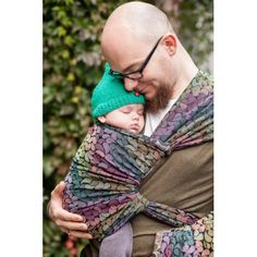 Lenny Lamb Cotton Woven Wrap - Colours of Rain - Slings and Things - 1 Dad Rocks, Baby Carrying, Natural Parenting, Parenting Tips, Jewel Tone Colors, Toddler Age, Woven Wrap, Baby Wraps, Jacquard Weave