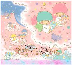 Sanrio Little Twin Stars Big Square Memo Pad: Bear
