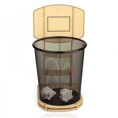 Cool DIY Basketball Stand rubbish bin