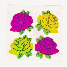 rare 80's Great Seven stickers