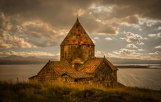 """Surp Arakelots  on a peninsula on Lake Sevan, Armenia, dating originally from the 9th century. I hope you like. You can see more  of my photos at:  <a href=""""www.photojohnwright.net"""">photojohnwright.net</a>"""