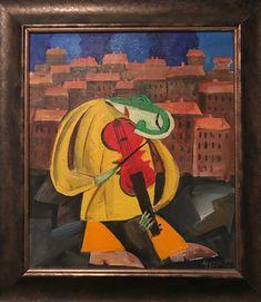 roman zuzuk (oil on canvas)