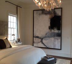 mid century modern bedroom art abstract - Google Search