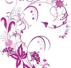 free vector graphic purple swirls and flowers free vector vector free vector vector flower free vector floral greeting card Flower Graphic, Graphic Art, Arabesque, Flowers Background, Floral Pattern Vector, Floral Patterns, Vector Flowers, Free Vector Graphics, Vector Vector