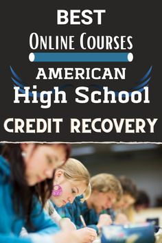 Get on track to graduate! American High School offers online credit recovery courses. Enjoy your summer and retake courses at the same time! We make it easy and affordable #onlinehighschool #creditrecovery