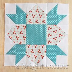 Swedish Weathervane Block Tutorial | Journey to the shores of Sweden with this gorgeous quilt block!