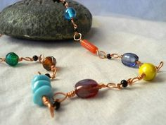 Beautiful necklace to make when you have a bunch of mismatched beads