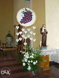 Komunia dekoracja kosciol