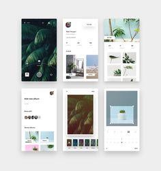New camera app Best Ui Design, Ios App Design, Mobile Ui Design, Web Design, Interface Design, Photo Album App, App Design Inspiration, Design Ideas, Screen Design