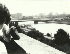 Most Grunwaldzki, Kraków - 1979 rok, stare zdjęcia