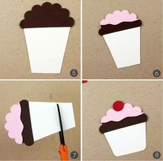 Paper Punch Cupcakes
