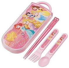 NEW Chopsticks Spoon Fork Disney Princess Alice Ariel Outdoor Lunch Gift TACC1A | eBay
