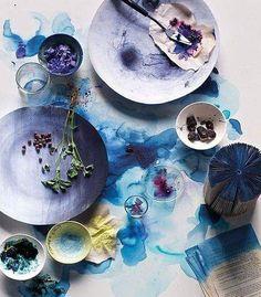 #bohostyle #colors #purple #plats #art #artistic