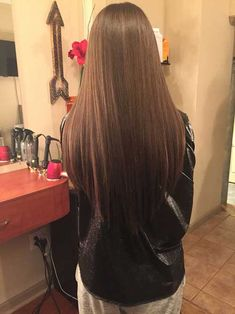 V-Form Lange Haarschnitte Alle Damen sollten sehen, V-Form lange Haarschnitte, Lange Haare V Cut Hair, V Hair, Hair Color And Cut, Haircuts For Long Hair Straight, Long Hair Cuts, Long Hair Styles, Haircut Long, Beautiful Long Hair, Gorgeous Hair