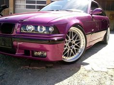 BMW E36 M3 Purple