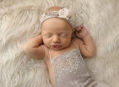 Newborn Lace Romper Newborn Romper Prop by LovelyBabyPhotoProps