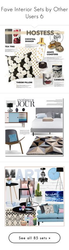 """""""Fave Interior Sets by Other Users 6"""" by szaboesz ❤ liked on Polyvore featuring interior, interiors, interior design, home, home decor, interior decorating, Wendover Art Group, Kate Spade, Fornasetti and Balmain"""