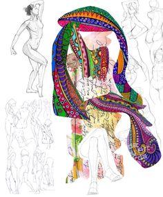 #maha_masoud  #ipad #collage #cutout #pattern #mixmedia  #jeddah #2016 #at_maha_masoud_art_page
