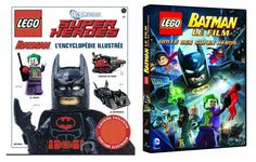 LEGO Batman L'encyclopédie illustrée & LEGO Batman Le Film Unité des Super Héros - www.brickheroes.com