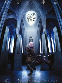 EGOIST released a short video for the theme song to the anime Fate/Apocrypha, 'Eiyuu Unmei no Uta'. Beautiful Anime Girl, I Love Anime, Me Me Me Anime, Anime Music, Anime Art, Guilty Crown Wallpapers, Pc Drawing, Inori Yuzuriha, Scenery Background