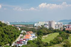 The Penang Sports Club, established in 1947, is just one of three five-star facilities on the island. Set within 16 lush acres, and with more lawn tennis courts than any other club in Malaysia