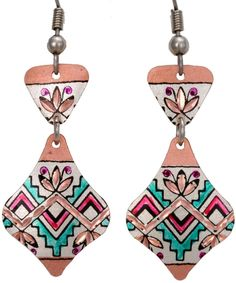 Native Design Rainbow Earrings