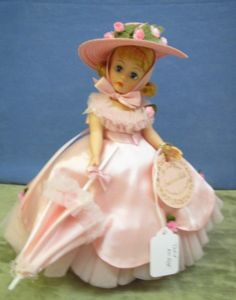 Madame Alexander ~ Brings happy memories of the many MA dolls my parents bought for me when I was little. And, I still have them! :)