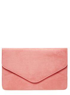 bolsa de de Foto de coral Suedette embrague 1 la Bpxn7wOvTq