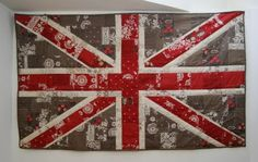 union jack quilt - I see where I went wrong in my attempt to make a Union Jack quilt top. I think I can fix it now! Yay! #tutorial