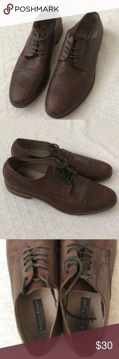 bd0969b474a Aston Grey Brown Leather Dress Shoes Lightly worn pair of brown leather  dress shoes by Aston
