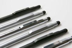 Ti-Click Pro Solid Titanium Click Pen + Stylus