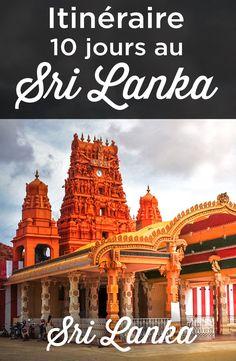 Itineraire Sri Lanka