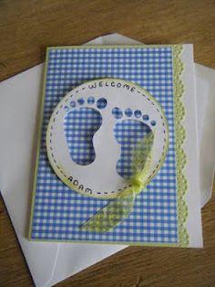 Creative Critters Cricut Club: Card - Baby