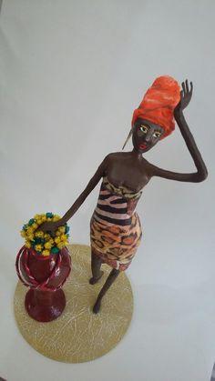 Africana - Papel Machê