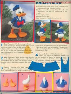 donald duck cake decorations