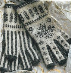Project Gallery for Anu's Christmas Gloves pattern by Nancy Bush