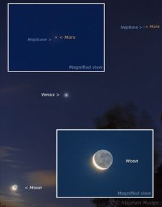 On January 1 a Mars-assisted viewing opportunity allowed binocular-equipped skygazers to cross Neptune off their life list.