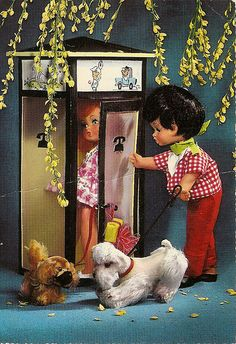 call-box and dolls