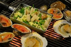 Seafood barbecue in Seoul. K-Style!
