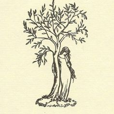 """The Brothers Grimm, """"The Juniper Tree"""" - """"My Mother she killed me,/My Father he ate me./ My sister buried my bones/ Beneath the Juniper Tree. Kunst Inspo, Art Inspo, Wow Art, Hippie Art, Pretty Tattoos, Art And Illustration, Illustrations, Future Tattoos, Pretty Art"""