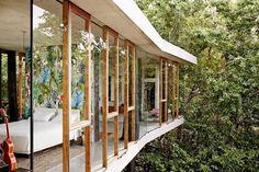 Una casa acristalada en Australia | meu canto blog