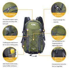 cf59410eff13 984 Best Camping Hiking Backpacks images in 2019 | Backpack ...