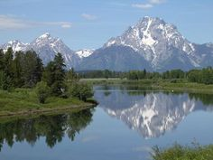 Grand Teton National Park: This place has the most beautiful scenery.