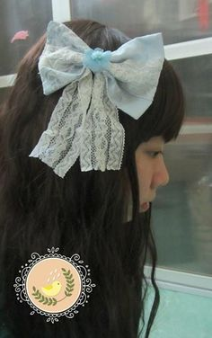 Corsage for my new Mori Girl design #Morigirl #Corsage #Cuteribbon #Hairwear #NaturalKei
