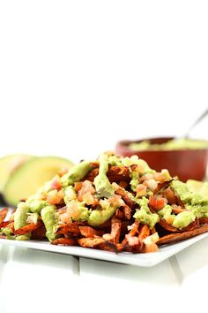 1. Loaded Guacamole Sweet Potato Fries #whole30 #recipes http://greatist.com/eat/whole30-recipes-for-lunch