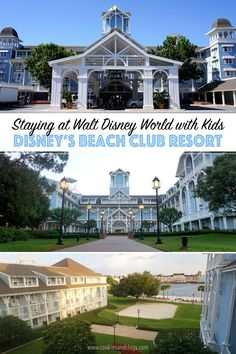 Cookies & Clogs | Travel | If you are staying at Walt Disney World with kids, then Disney's Beach Club Resort is perfect. It's a deluxe level resort with nice rooms, an amazing pool (pics inside), and plenty of tasty food options. Get all the info as well