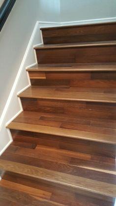 Custom Engineered Random Plank Oak Wood Flooring.