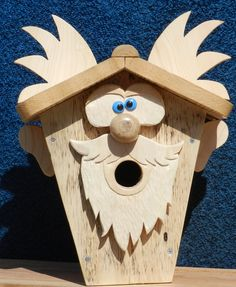 Ау Building Bird Houses, Wood Projects, Projects To Try, Coquille Saint Jacques, Scroll Saw Patterns Free, Bird Boxes, Palette, Big Bird, Wild Birds