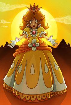 Daisy, Sun princess by Evanatt.deviantart.com on @deviantART
