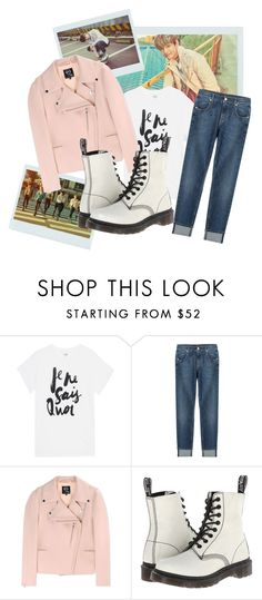 """""""BTS inspired by V outfit"""" by schnpri ❤ liked on Polyvore featuring Sincerely, Jules, 7 For All Mankind, McQ by Alexander McQueen, Dr. Martens, kpop, bts, BangtanBoys, taehyung and kpopoutfits"""
